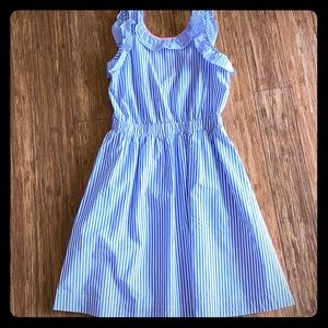 Crewcuts by J. Crew Blue and White Sundress